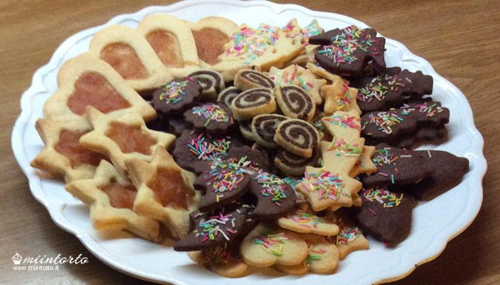 Zuccherini, biscotti natalizi
